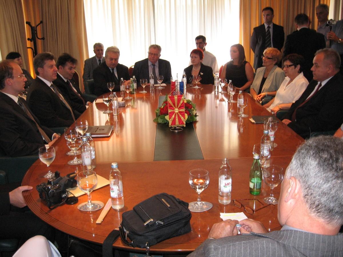 Susret s Predsjednikom Republike Makedonije, Đorge Ivanovom