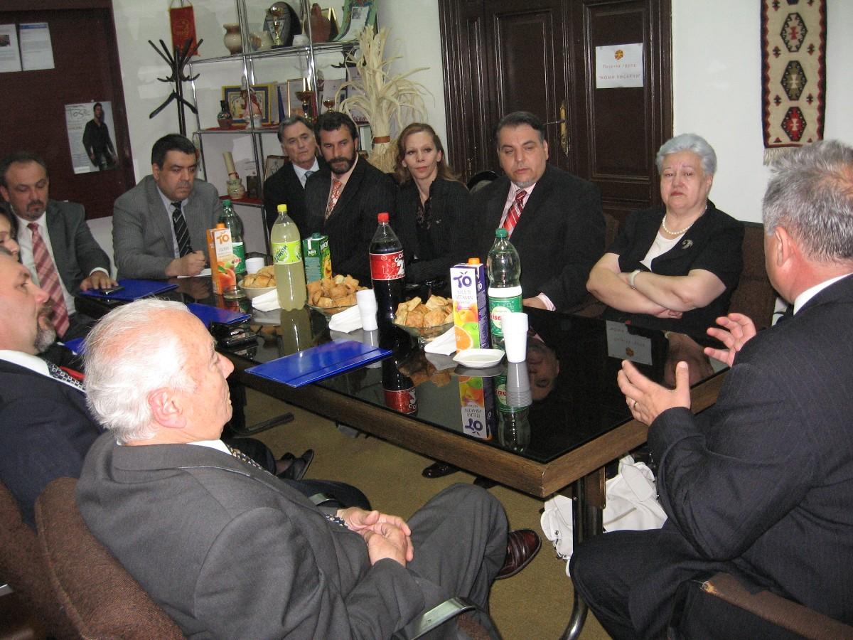 Susret s delegacijom Makedonskog Parlamenta