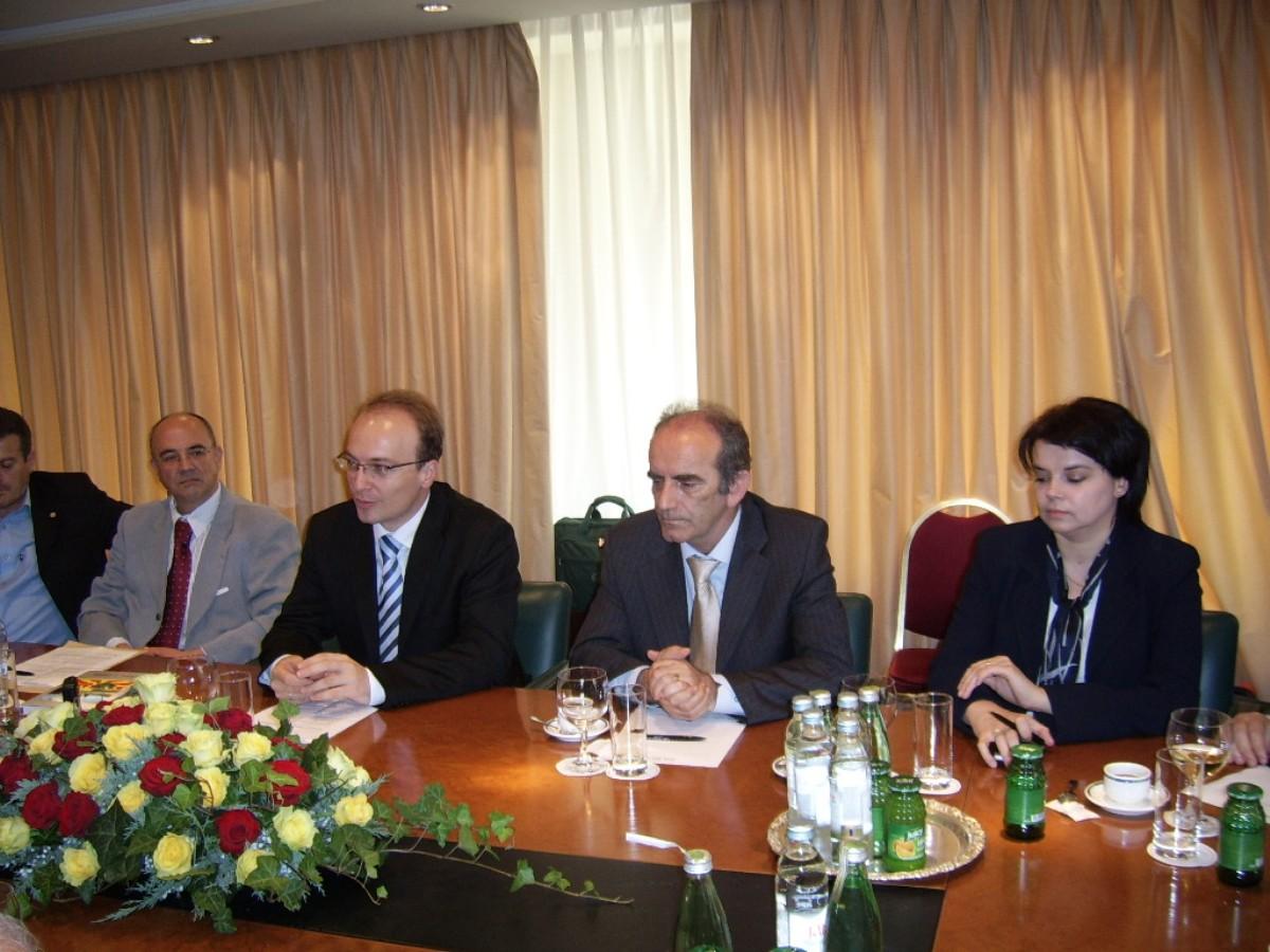 Susret s ministrom vanjskih poslova Republike Makedonije, Antoniom Milošoskim