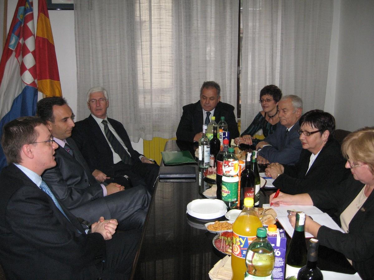 Susret s predsjednikom Komisije za europska pitanja pri Parlamentu RM, Titom Petkovskim