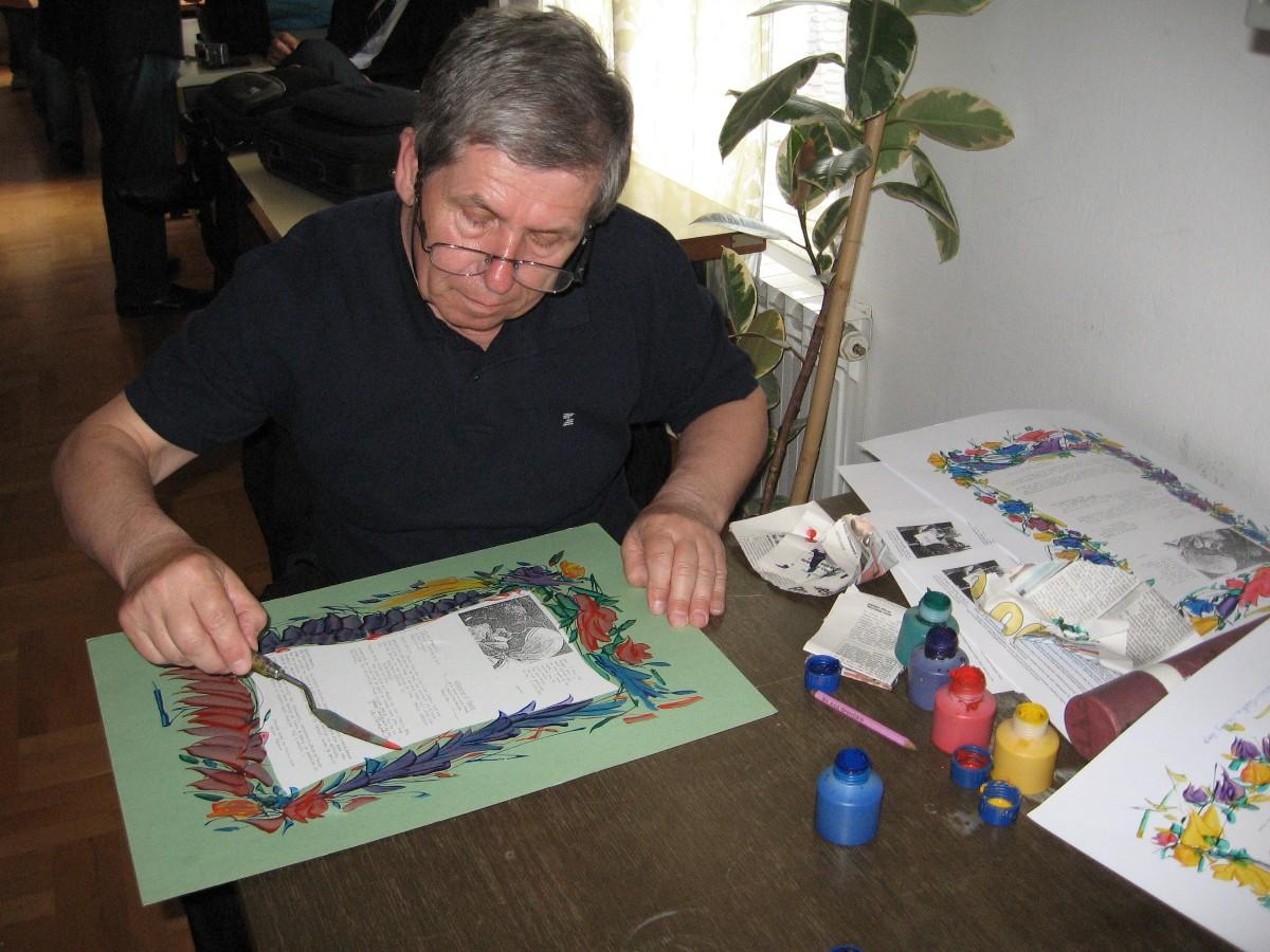 Živko Popovski – Cvetin – slikar