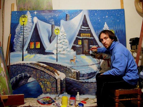 Stojanče Andonov – Dito – slikar i kipar