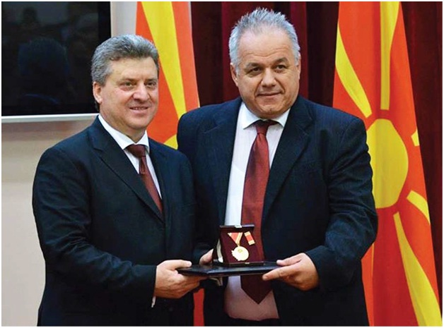 Medalja za zasluge za Makedoniju