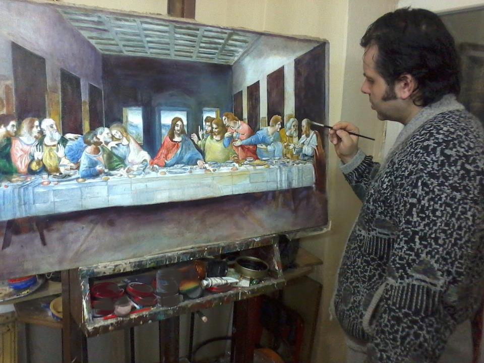 Mitko Tošev – slikar i kipar