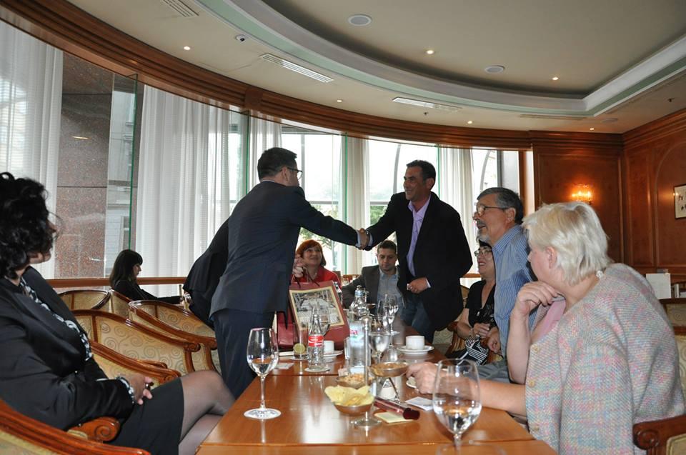 Susret sa zamjenikom premijera Fatmirom Besimijem u Zagrebu