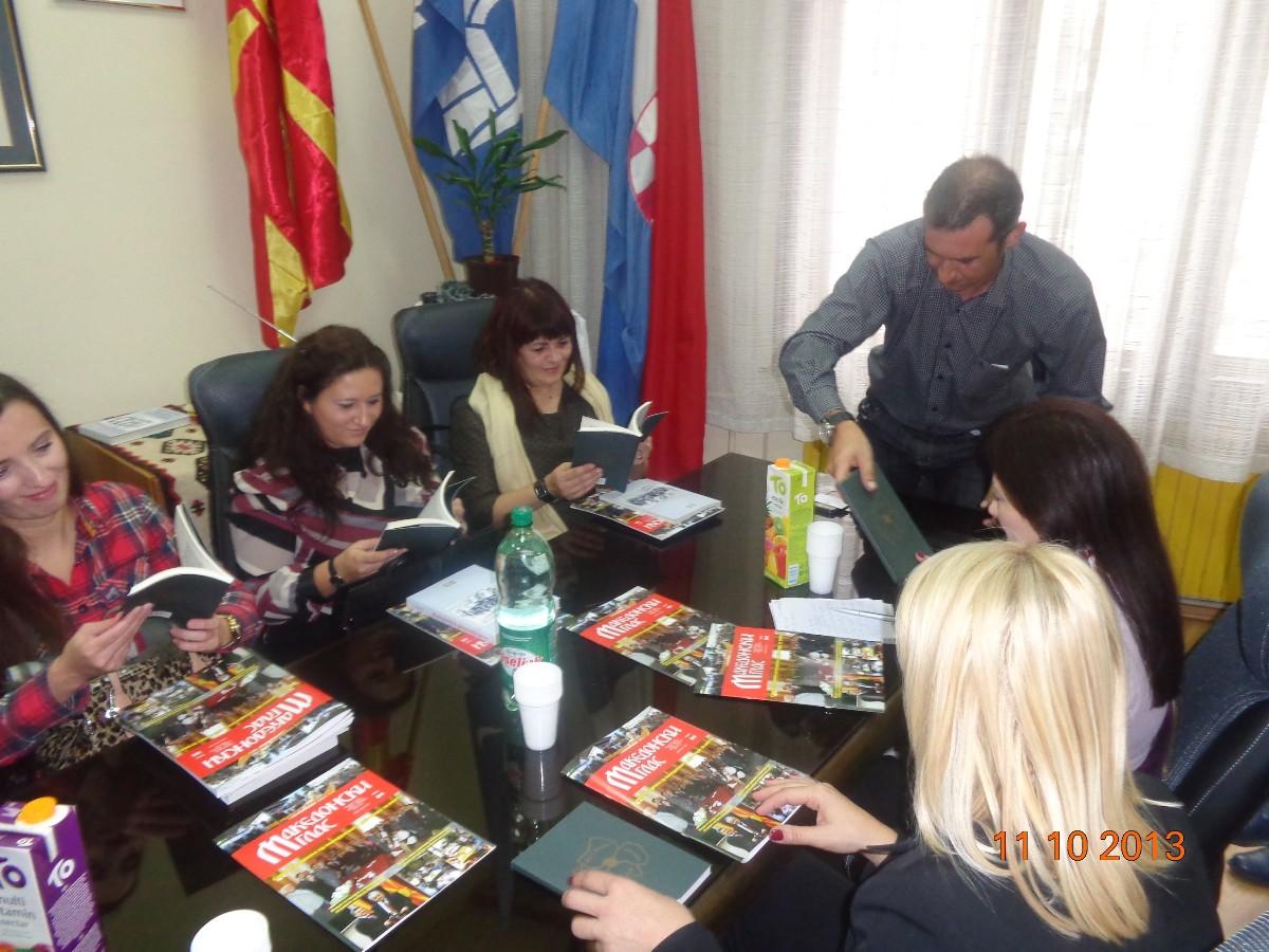 Susret s delegacijom iz Agencije za ostvarivanje prava zajednica