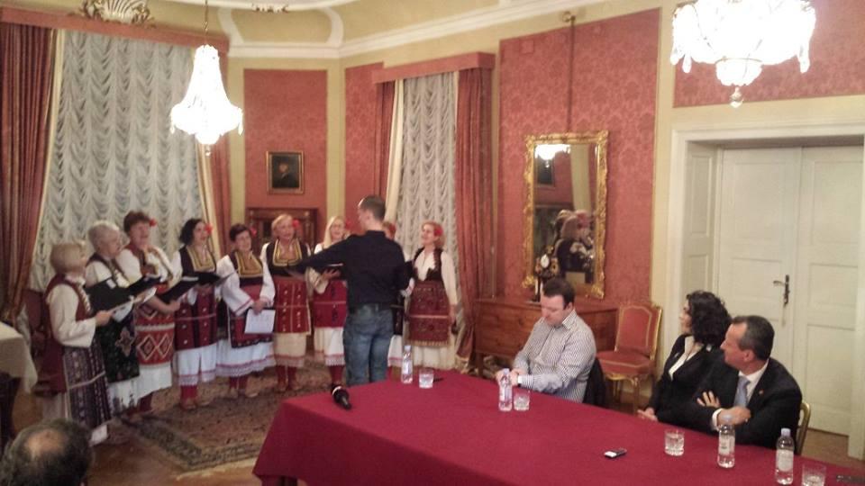 Susret s predsjednikom Sobranja RM, Trajkom Veljanoskim