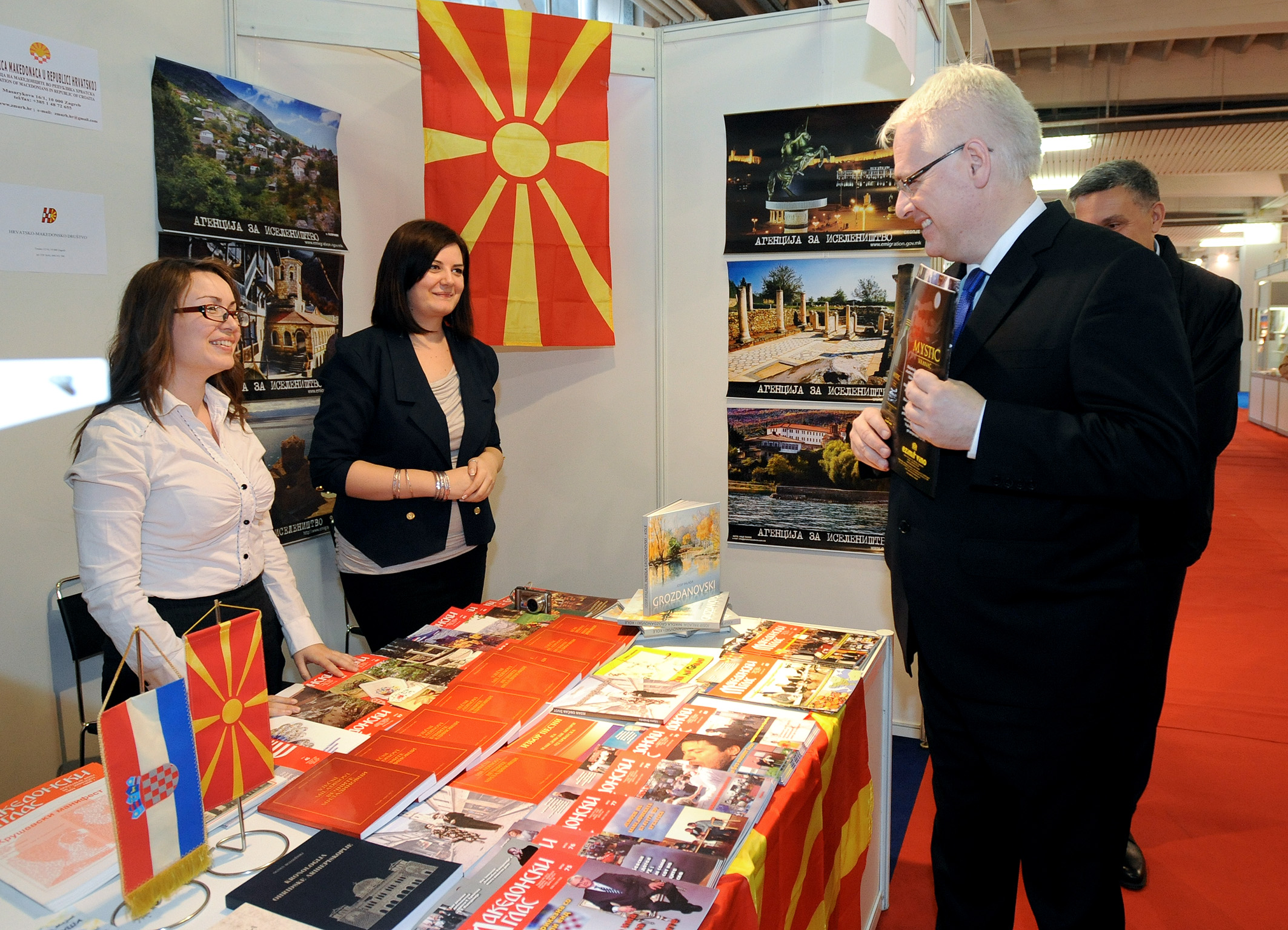 """Makedonske knjige po prvi put predstavljene na """"Interliberu"""""""