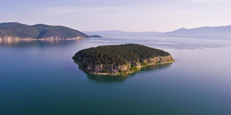 Mistični prespanski otok