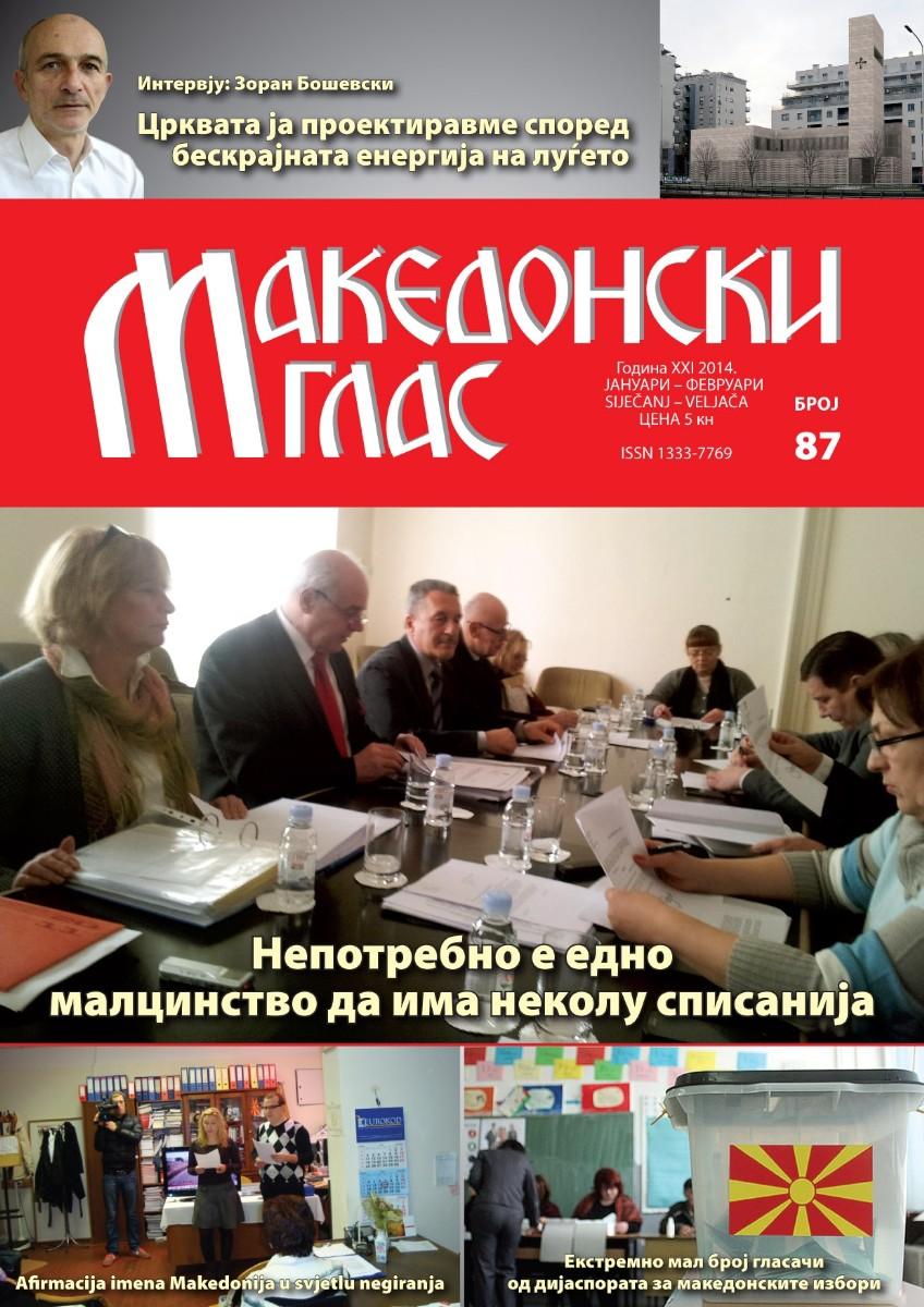 Makedonski glas br. 87