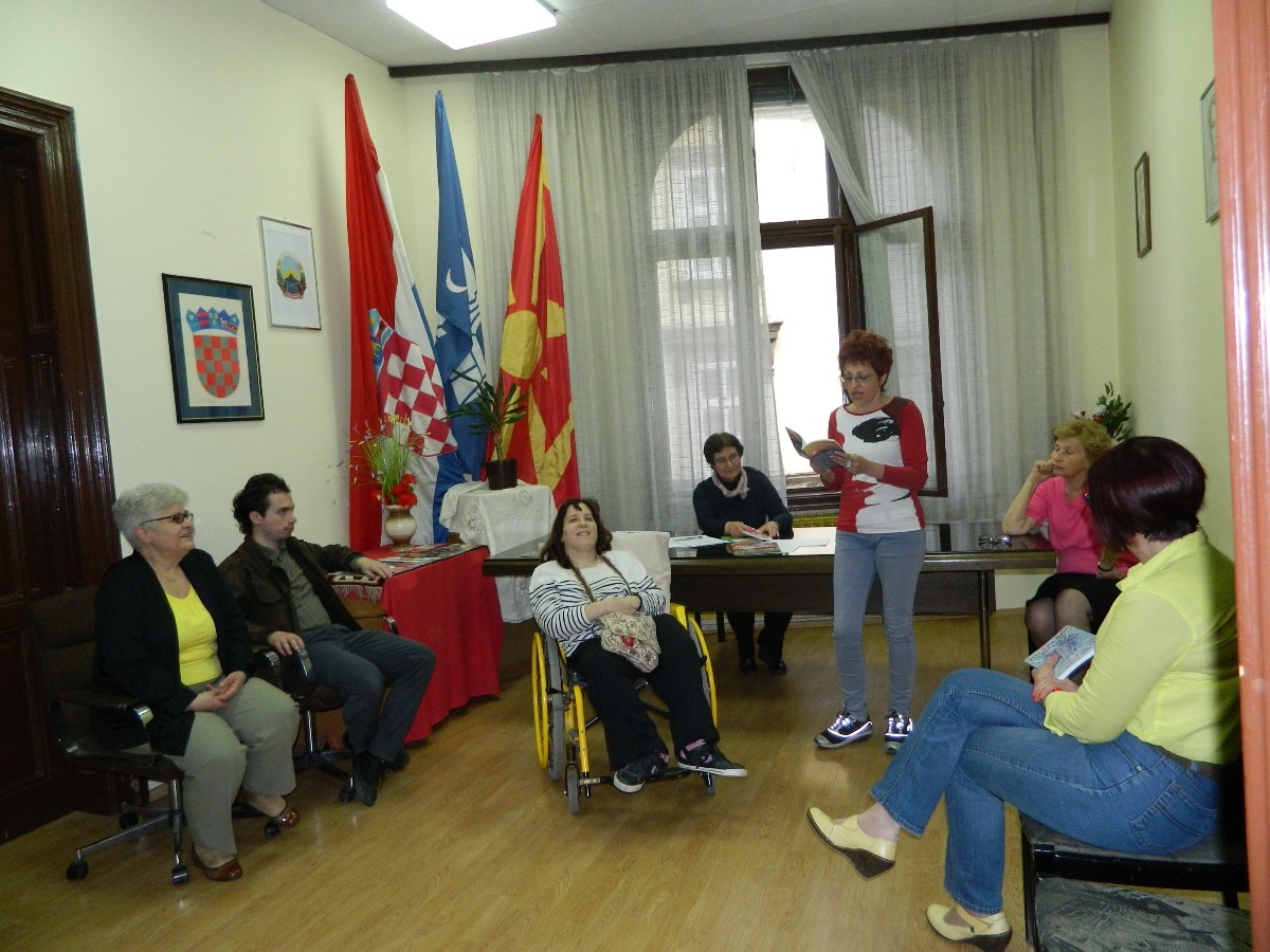 Noć knjige i makedonski jezik u Zagrebu