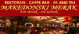 Restoran Makedonski Merak Zagreb