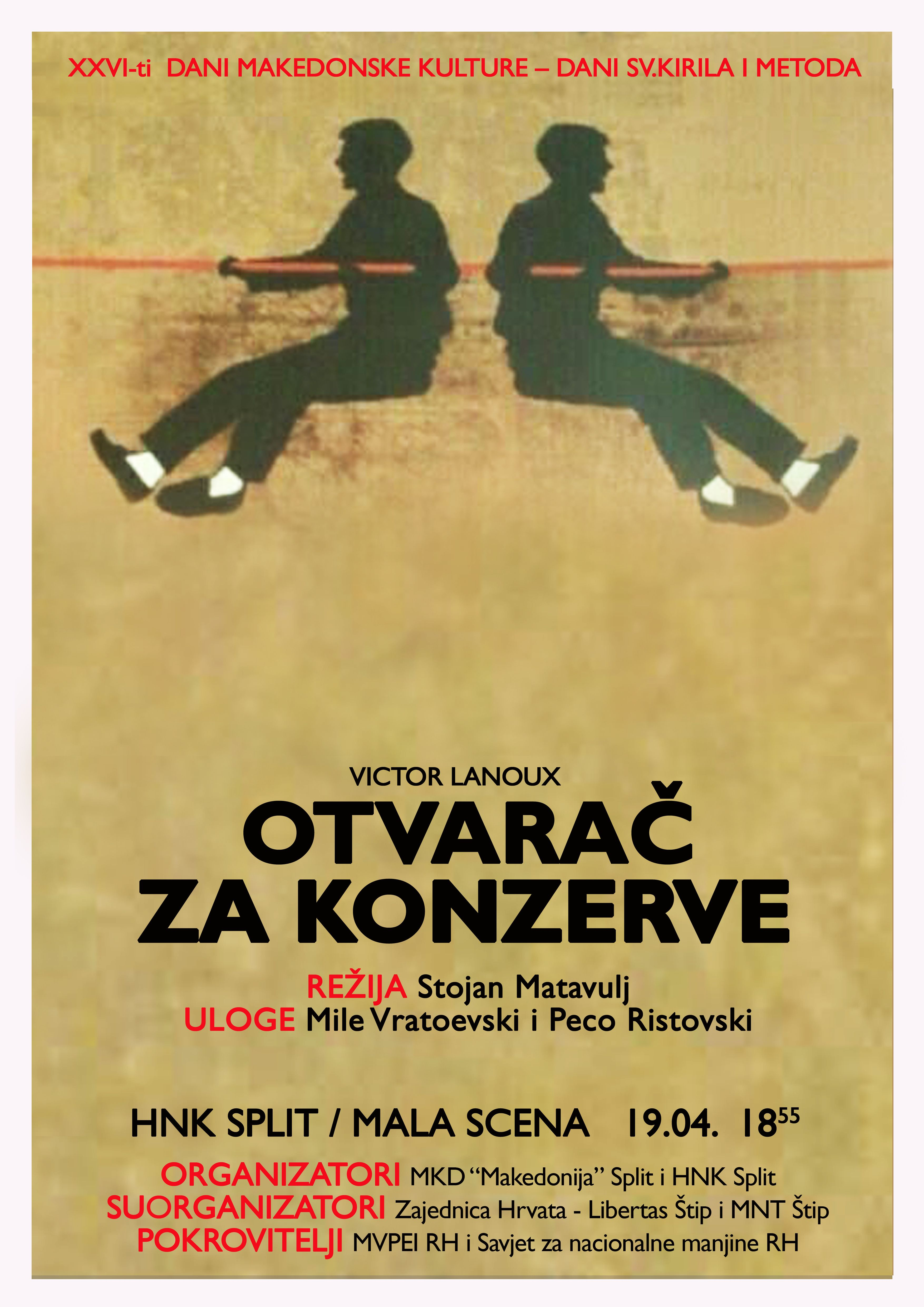 "Pozivnica: ""26. Dani makedonske kulture – Sv. Kiril i Metodi"" – Split"