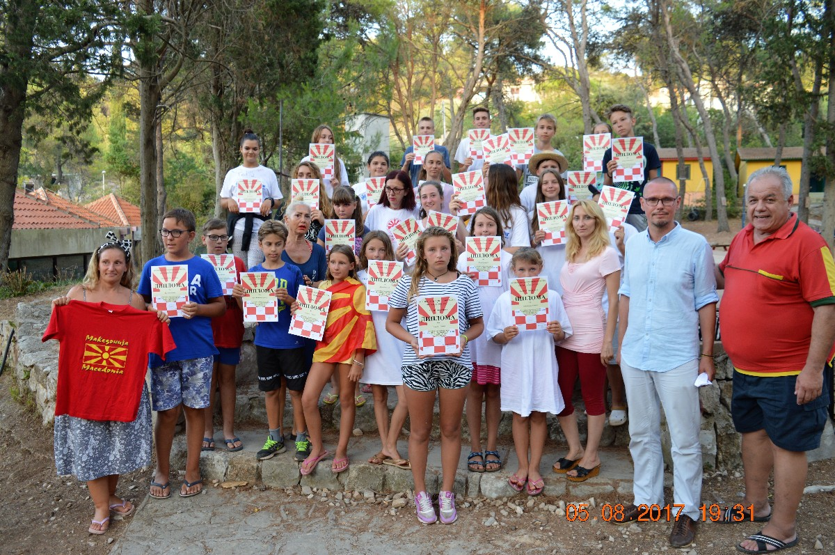 Jedanaest godina na Šolti se uči makedonski